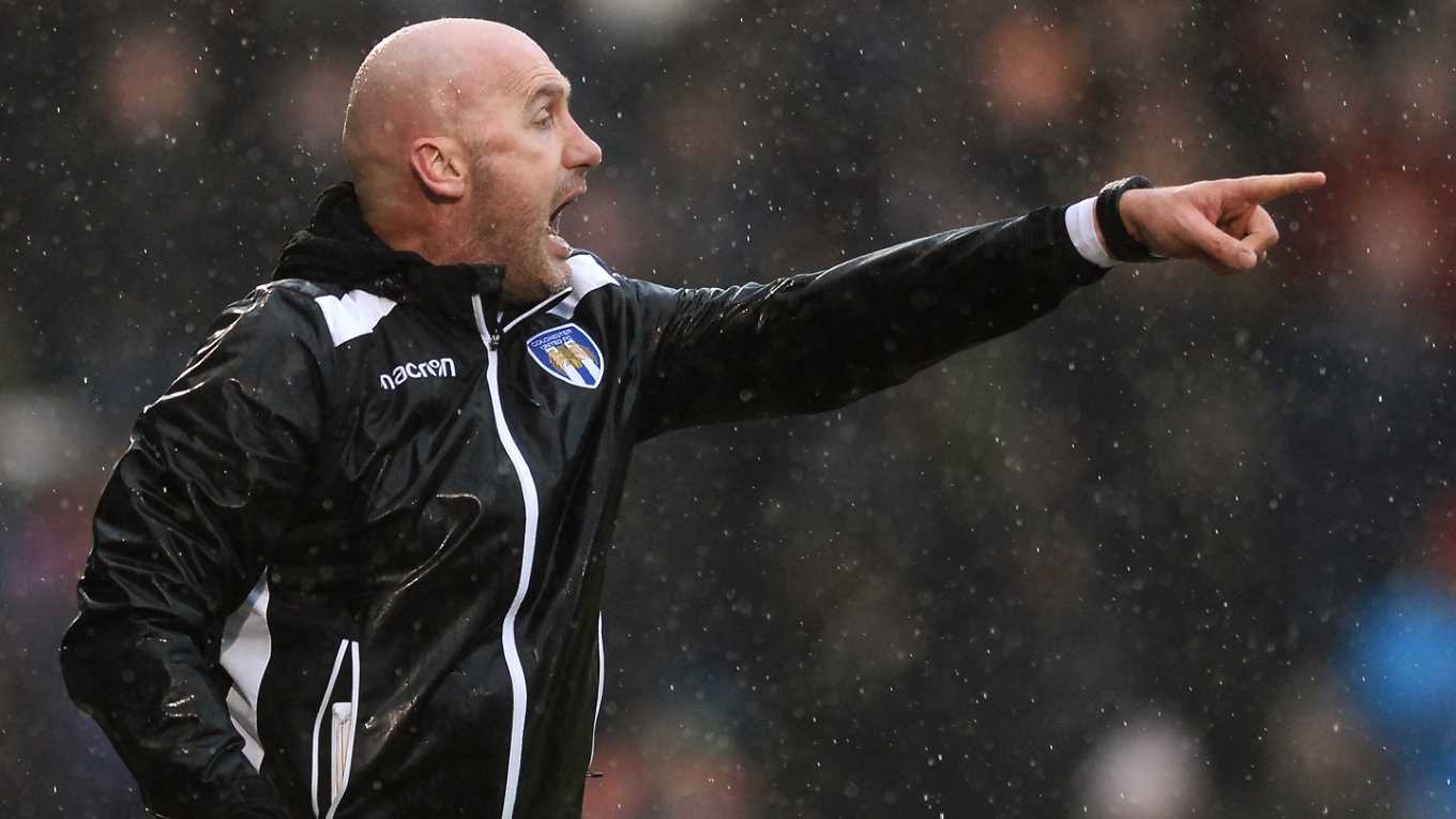 Colchester Manager John McGreal